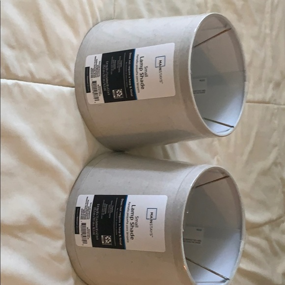 Mainstays Other - 2 brand new small lampshades